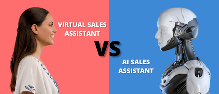 Comparison between Virtual Sales Assistant and AI Sales Assistant